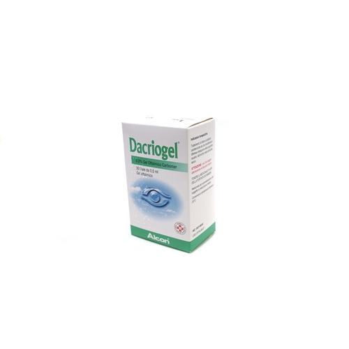 Dacriogel 3 Mg/G Gel Oftalmico 30 Fiale Da 0,5 Ml