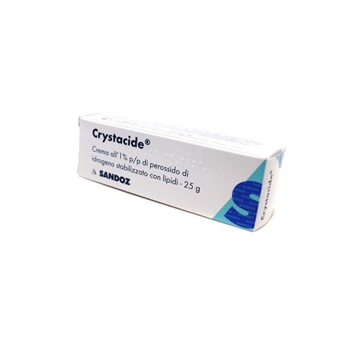 Crystacide 1 Tubo 25 G Crema