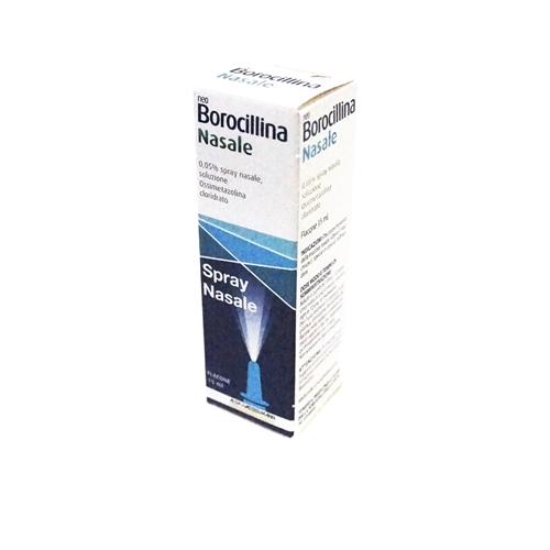 Neoborocillina Nas 0,05 Spray Nasale, Soluzione 1 Flacone Da 15 Ml