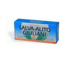 Giuliani Linea Digestione Sana Salva-Alito 30 Compresse Rinfrescanti Menta Forte