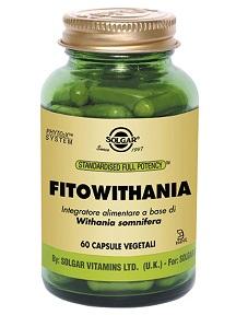 Solgar It. Multinutrient Fitowithania 60 Capsule Vegetali