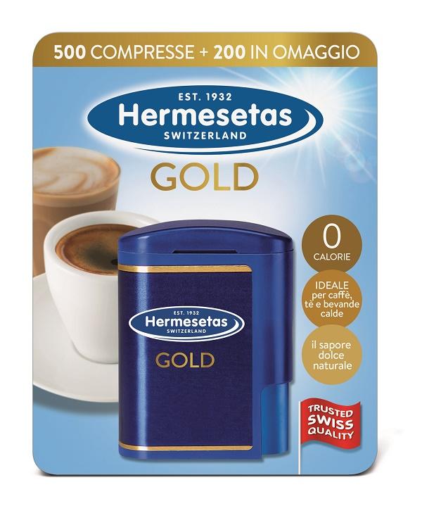 Dompe' Farmaceutici Hermesetas Gold 500+200 Compresse 35 G