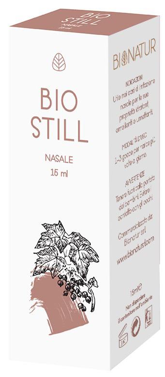Bionatur Biostill Gocce Nasali 15 Ml