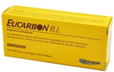 Giuliani Eucarbon Ri 40 Compresse