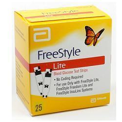 Abbott Diabetes Care Italia Strisce Misurazione Glicemia Freestyle Lite 25 Pezzi