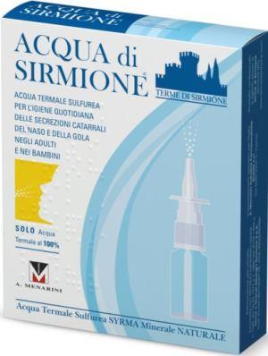 Terme Di Sirmione Acqua Sirmione Minerale Naturale 6 Fiale 15 Ml