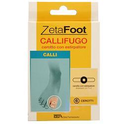 Zeta Farmaceutici Zetafooting Cerotto Callifugo 6 Pezzi