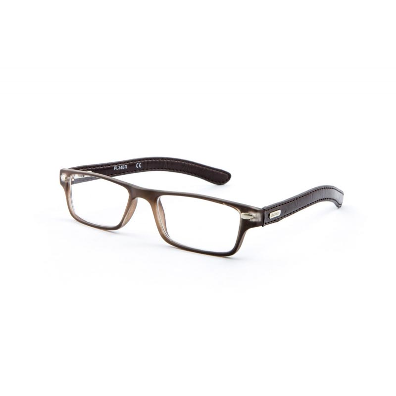 Doubleice Occhiale Premontato Dundee Brown  3 00 Diottrie