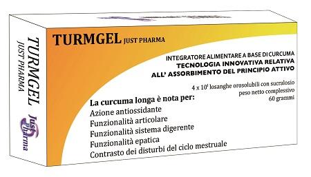 Just Pharma Turmgel Curcumina 40 Losanghe Orosolubili