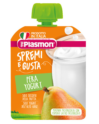 Plasmon Spremi E Gusta Pera Yogurt 85 G
