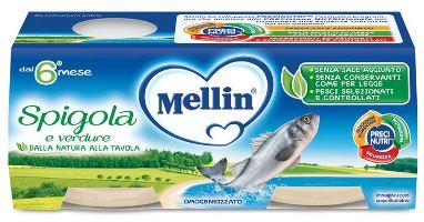 Mellin Omog Spigola 2 X 80 G