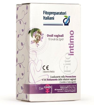 Biodue Selerbe Fitointimo 10 Ovuli Vaginali Da 2 G