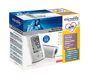 Microlife Ag Misuratore Di Pressione Elettronico Microlife Afib Advanced Easy