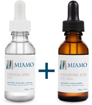 Med Miamo Kit Hyaluronic Acid Lh Serum 30 Ml Essential Lipids Serum 30 Ml