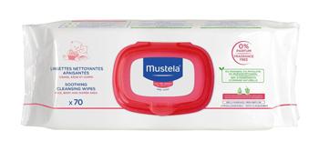 Lab.expanscience Italia Mustela Salviette Detergente Lenitivo 70 Pezzi