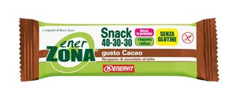 Enervit Enerzona Snack Cacao 40 30 30 1 Barretta Nuova Formula
