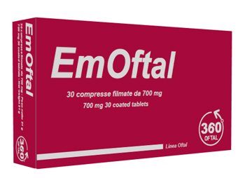 360 Oftal Emoftal 30 Compresse Filmate
