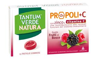 Tantum Verde Natura Pastiglie Frutti di Bosco