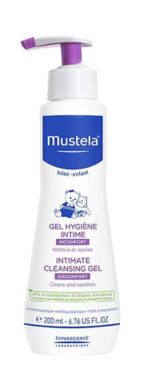 Lab.expanscience Italia Mustela Gel Detergente Intimo 200 Ml