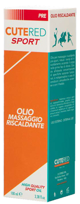 Cutered Sport Olio Massaggio Riscaldante 100 Ml