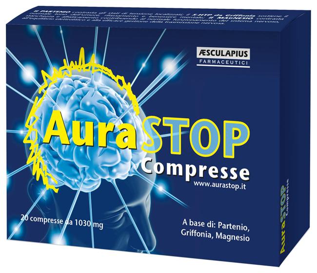 Aesculapius Farmaceutici Aurastop 20 Compresse