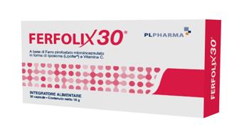 Pl Pharma Ferfolix30 30 Capsule