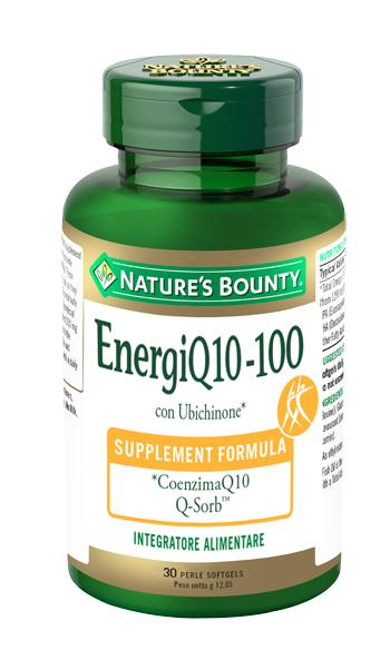 Nature s Bounty Energi Q10 100 30 Perle