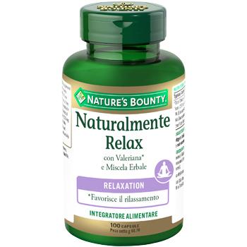 Nature s Bounty Naturalmente Relax 100 Capsule