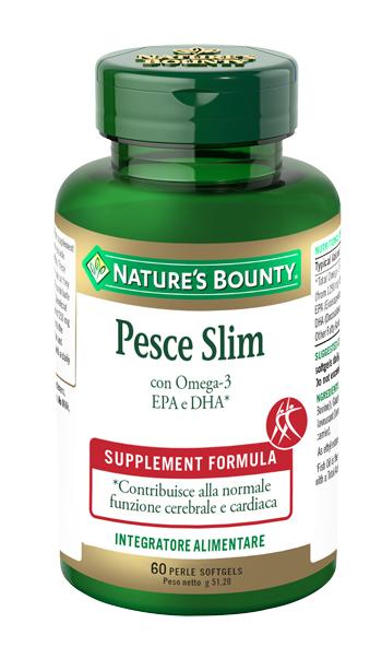Nature  s Bounty Pesce Slim 60 Perle