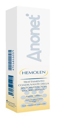Uniderm Farmaceutici Hemolen Anonet Crema 30 Ml
