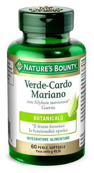 Nature s Bounty Verde Cardo Mariano 60 Perle