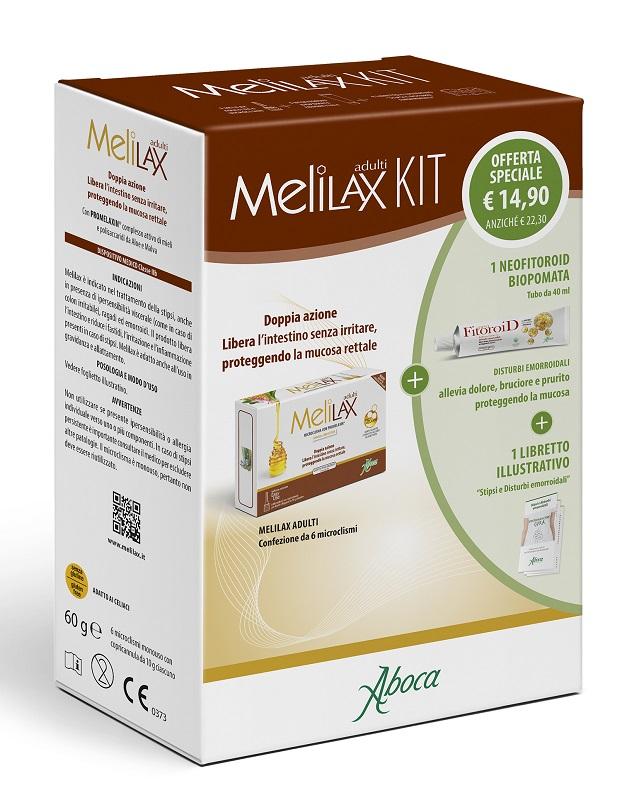 Melilax Adulti Kit Composto Da Melilax Adulti   Neoofitoroid Pomata