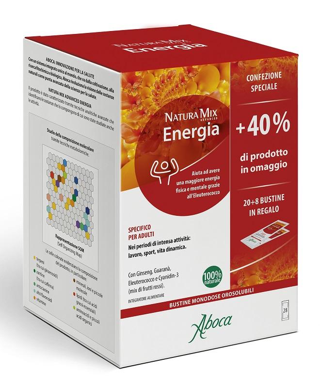 Natura Mix Advanced Energia 28 Bustine Confezione Speciale