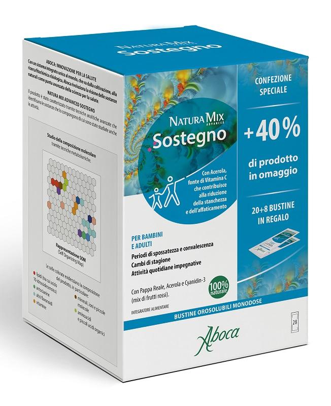 Natura Mix Advanced Sostegno Orosolubile 28 Bustine Confezione Speciale