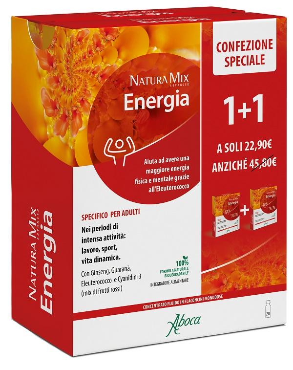 Natura Mix Advanced Energia 10 + 10 Flaconcini Confezione Speciale
