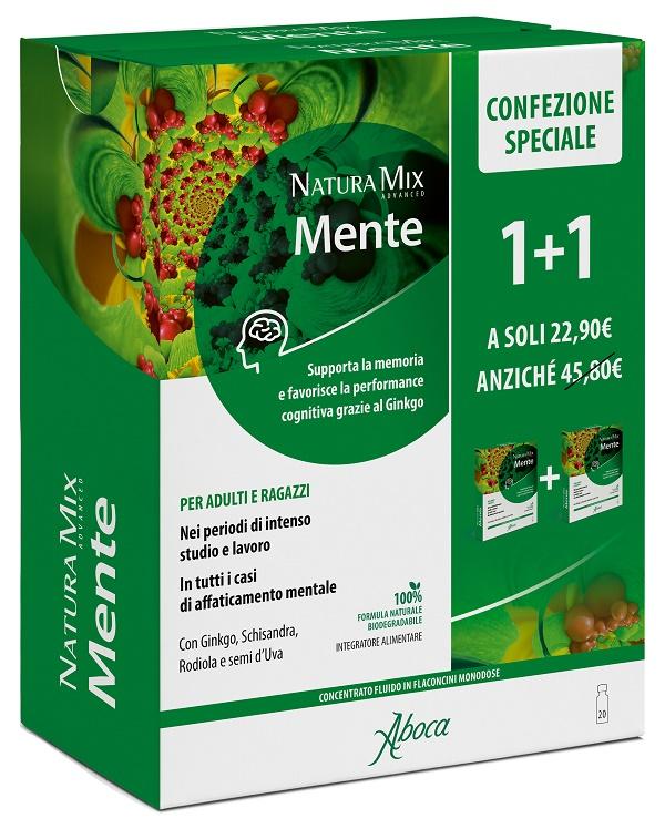 Aboca  Societa'' Agricola Natura Mix Advanced Ment10+10f