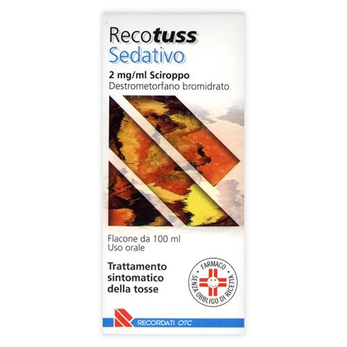 Recotuss Sedativo 2 Mg/Ml Sciroppo 1 Flacone Da 100 Ml