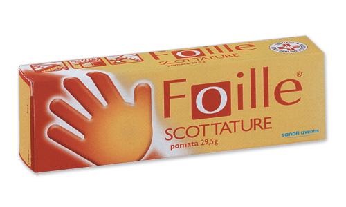 Foille Scottature Crema Tubo Da 29,5 G
