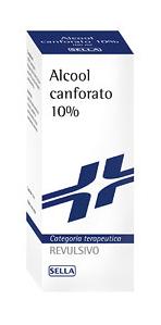 Canfora 10% Soluzione Cutanea 1 Flacone 100 G Di Soluzione Idroalcoolica