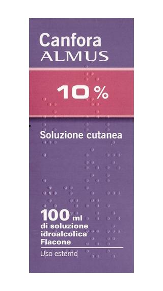 Canfora 10% Soluzione Cutanea 1 Flacone Da 100 Ml Di Soluzione Oleosa