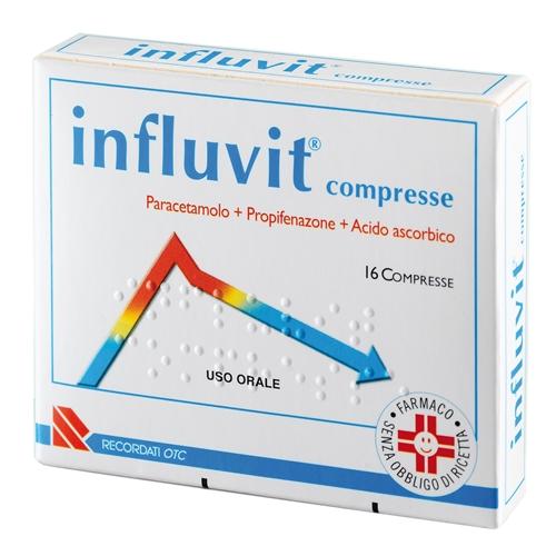 Influvit Compresse 16 Compresse