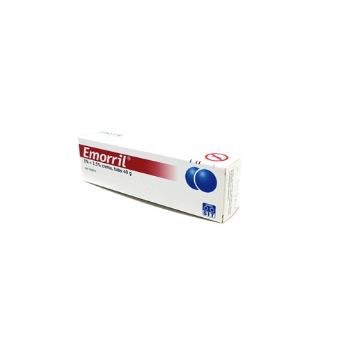 Emorril 1% + 1,5% Crema Tubo 40 G