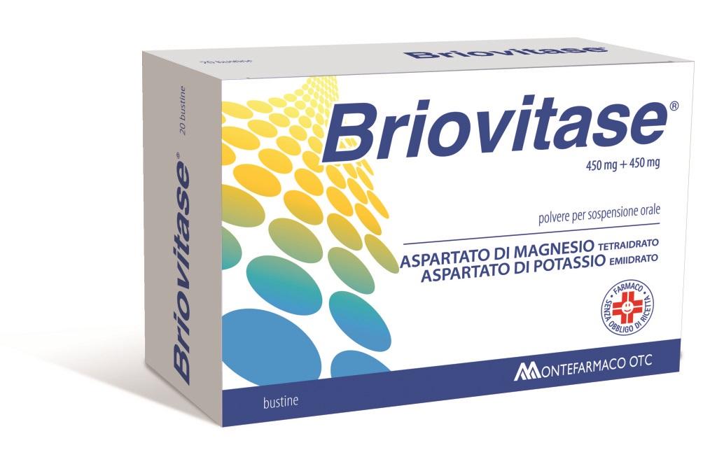 Briovitase 450 Mg + 450 Mg Polvere Per Sospensione Orale 20 Bustine