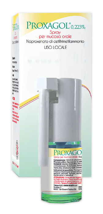 Proxagol 0,223% Spray Per Mucosa Orale Flacone Da 15 Ml