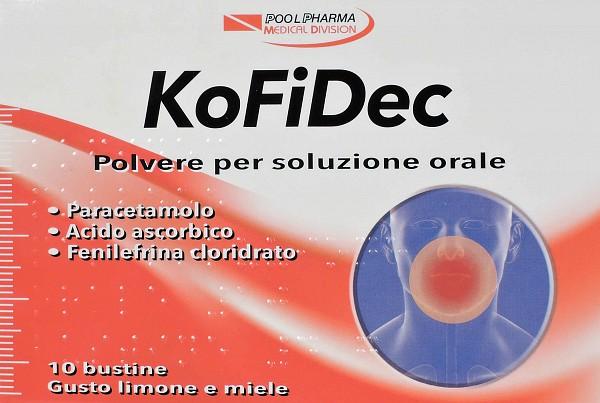 Kofidec Polvere Per Soluzione Orale 10 Bustine Gusto Limone E Miele Da 4 G