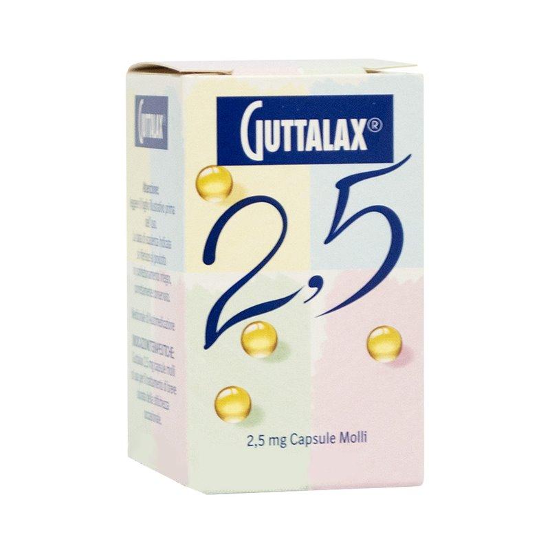 Guttalax 2,5 Mg Capsule Molli 30 Capsule