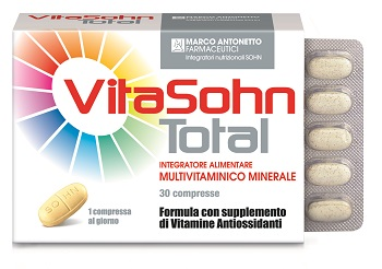 Marco Antonetto Vitasohn Total 30 Compresse