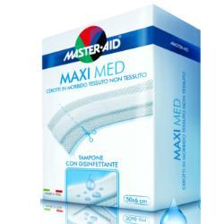 Pietrasanta Pharma Cerotto Master-aid Maximed Strisce Tagliate 50x8