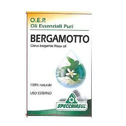 Specchiasol Bergamotto Olio Essenziale Puro 10 Ml