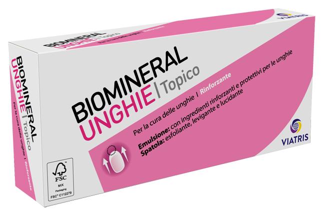 Meda Pharma Biomineral Unghie Topico Emulsione 20 Ml